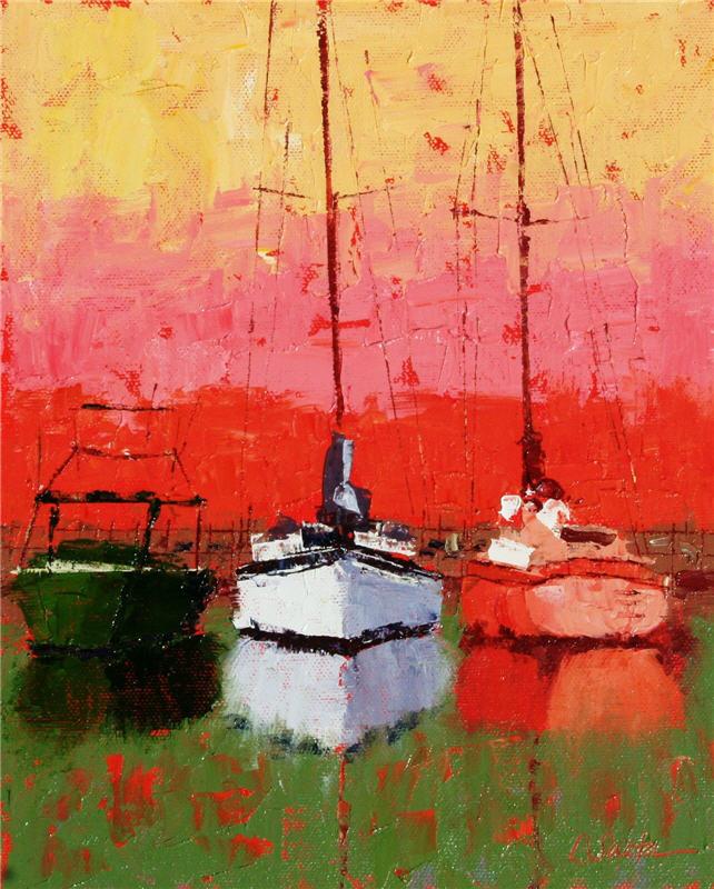 Víctor Bauer 1969 | pintor figurativo estadounidense