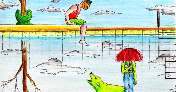 La piscina ilustrada sue os humedos for Piscina la almudena