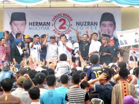 HM-NJ Kampanye di Hamparan Rawang
