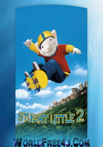 Poster Of Stuart Little 2 (2002) In Hindi English Dual Audio 300MB Compressed Small Size Pc Movie Free Download Only At World4ufree.Org
