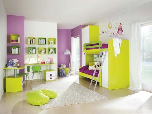 Dormitorios minimalistas para ni os habitaciones - Color habitacion nino ...