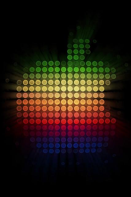 Apple Arabesque iPhone Wallpaper By TipTechNews.com