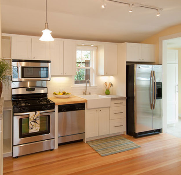 Easy Tips For Remodeling Small L Shaped Kitchen: Small Kitchen Design Photos Gallery