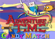 Adventure Time Candy Match