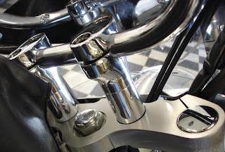 Scootworks SWR 21E Risers for Kawasaki Voyager Vaquero