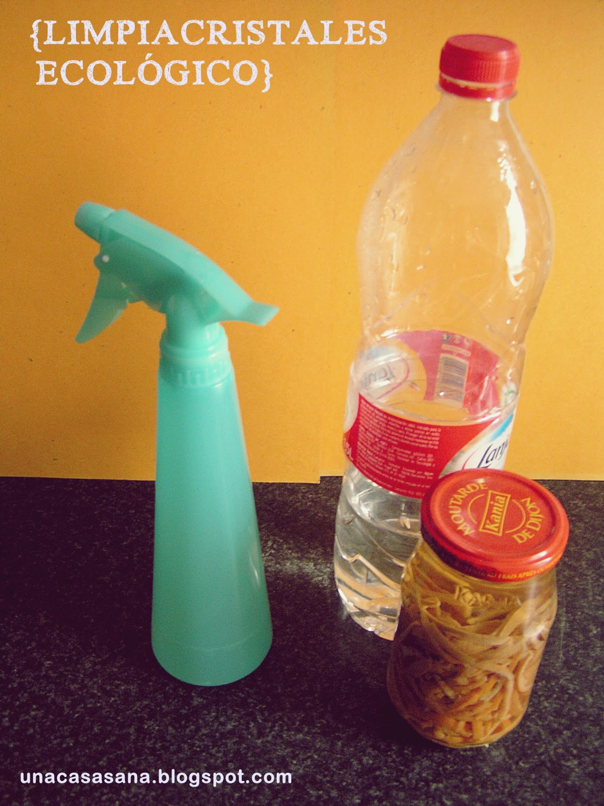 Una casa sana receta limpiador ecol gico 2 limpiacristales - Limpia cristales casero ...