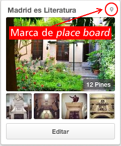 Marca identificativa de Place Board