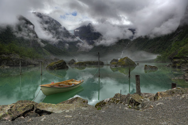 Lake Bondhus in Norway