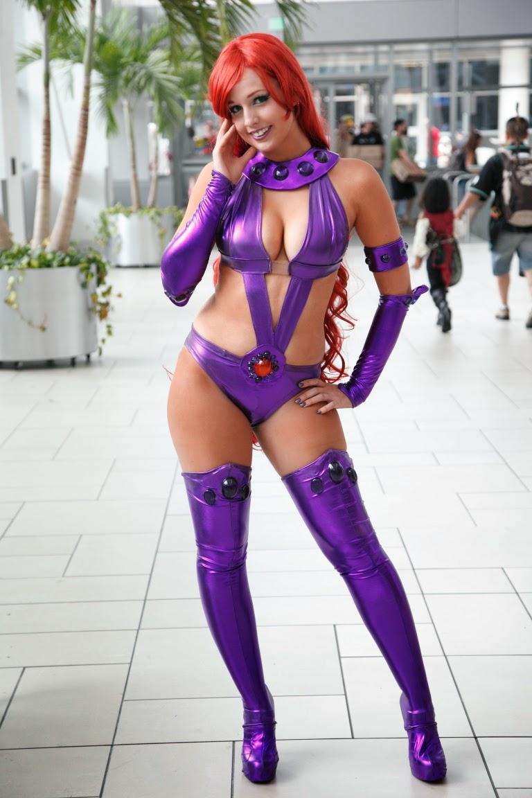 cosplay feminin violette super héroïne