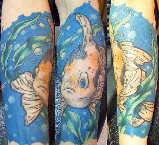 goldfish tattoo meaning. goldfish tattoo meaning.