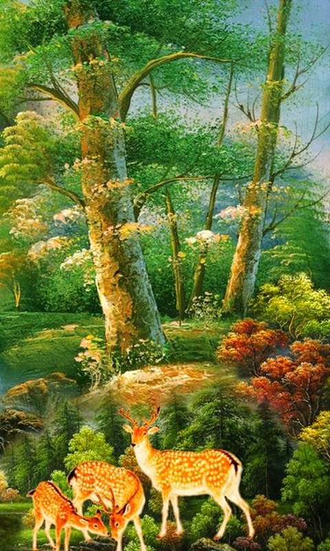 Beautiful 3d Oil Painting For Desktop Hd Wallpapers