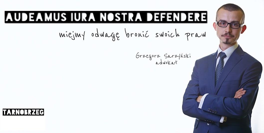 Blog adwokata Grzegorza Sarzyńskiego