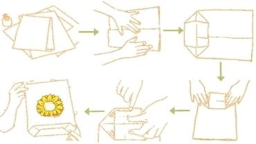 Cara buat paper bag tas kertas