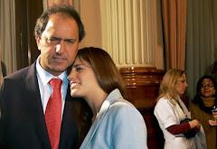 Terrible castigo por la derrota: violaron a la hija de Scioli.