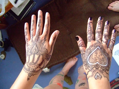 the power of moslem - Arabic mehndi designs 5