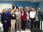 Dr. Méndez y grupo del Doctorado del ICAP