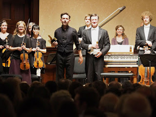 Iestyn Davies, Harry Bicket and the English Concert at the opening of the Wigmore Hall's 2015/16 season - ©Sisi_Burn