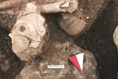 Ancient skeleton mask discovered in Turkey