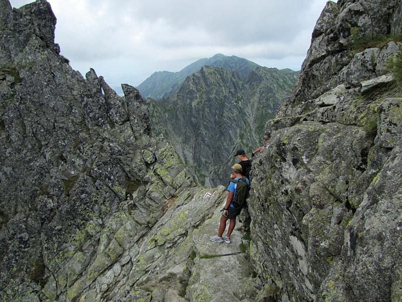Przełączka nad Dolinką Buczynową.
