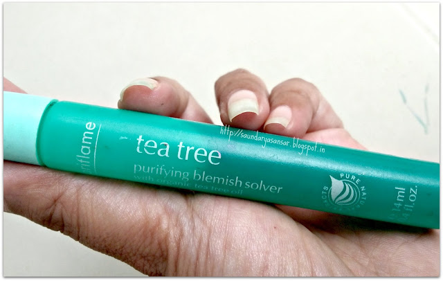 Oriflame-Sweden-Organic-Tea-Tree-Purifying-Blemish-Solver-Review