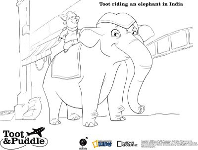 toot and puddles coloring pages - photo#15
