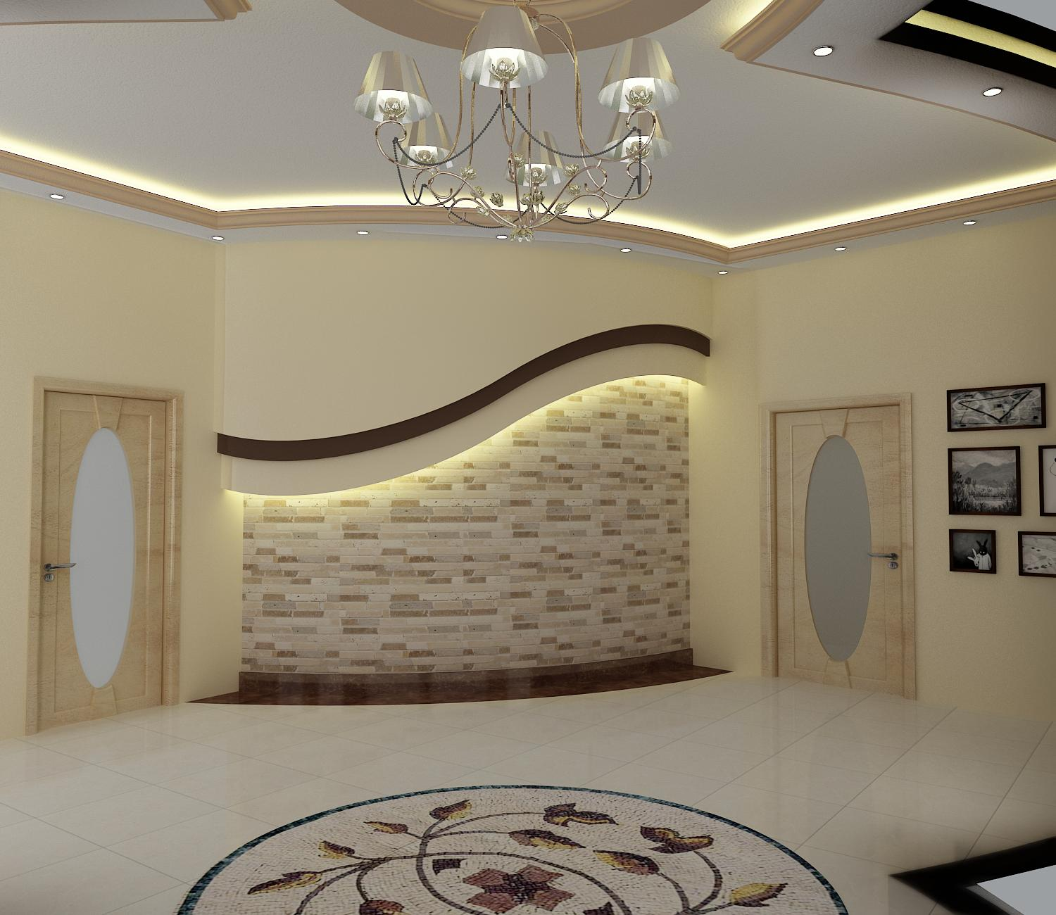 Wasim riaz interior design for a arabic mujlis for Interior decoration pics