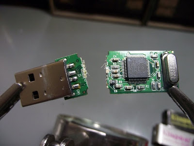 placa do pen drive