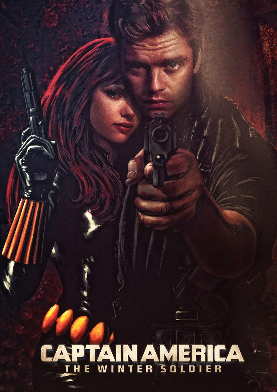 U0027Captain America: The Winter Soldieru0027 Fan Art Poster Favorites