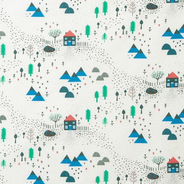 Mountain Home fabric by Donna Wilson
