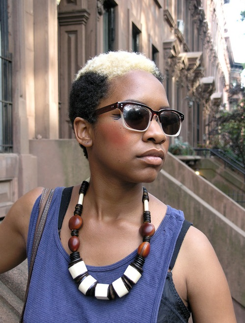Colored Hairstyles for Black Women