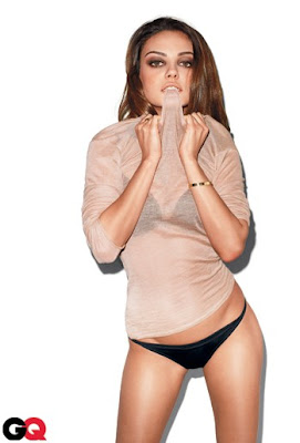 Mila Kunis GQ Magazine Cover Photoshoot