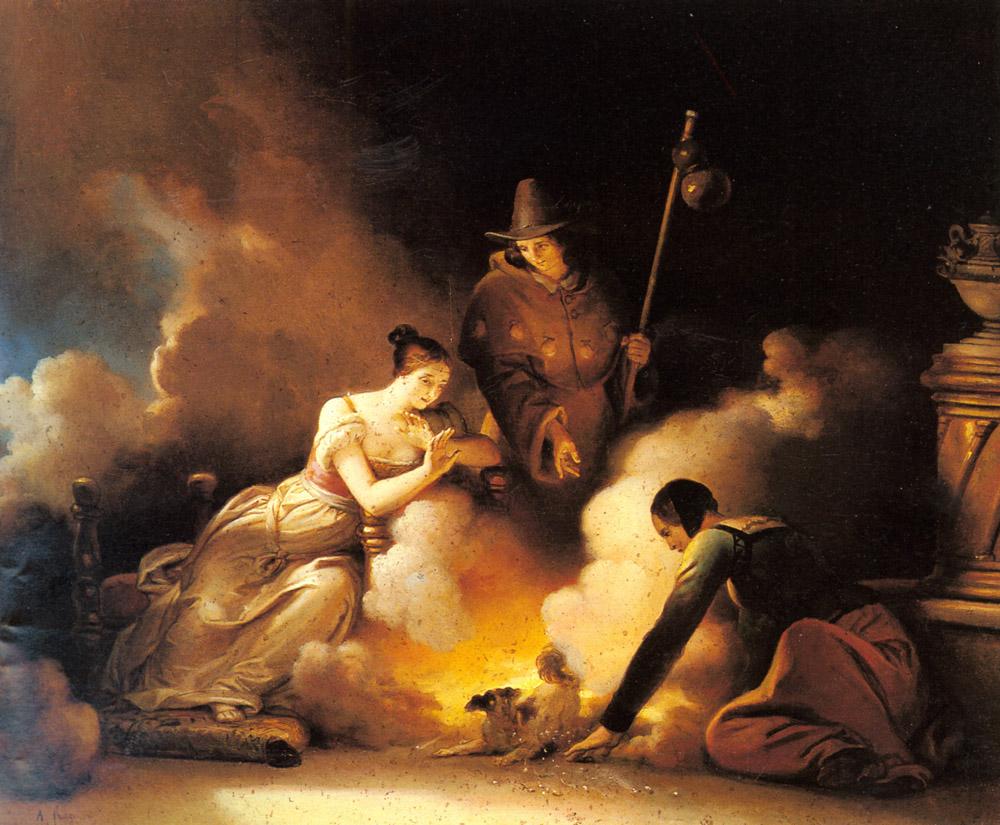 Alexandre-Evariste Fragonard magicien
