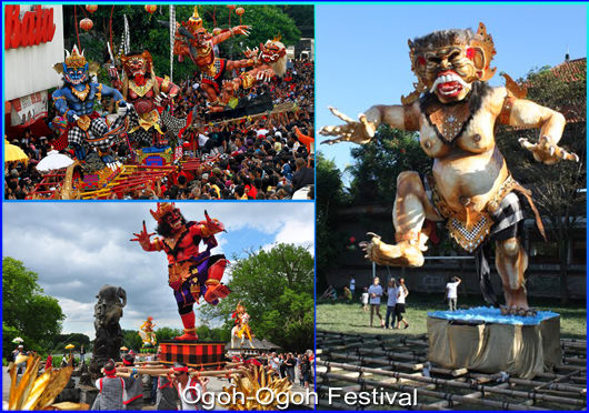 Ogoh-Ogoh Festival Is an Interest Tourism Religious at the Nyepi Day