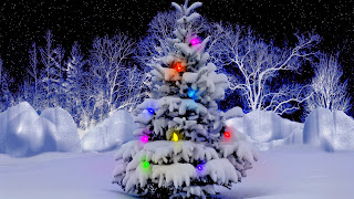 Precioso árbol de Navidad
