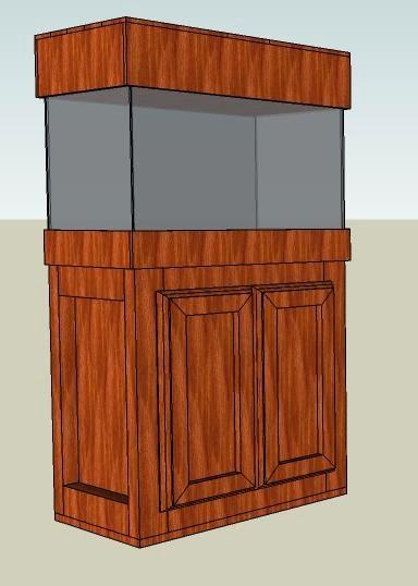 El taller del burro diy mueble para acuario de 60x35 for Mueble para acuario