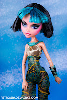 Custom Repainted Monster High Skull Shores Cleo de Nile