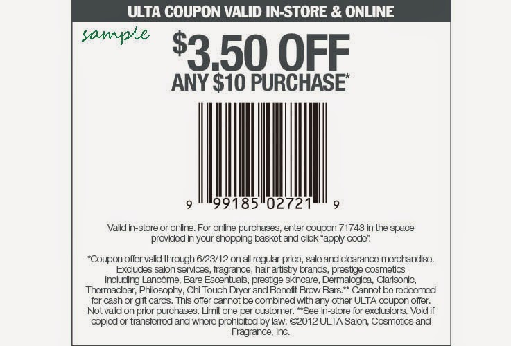 Secret coupons canada