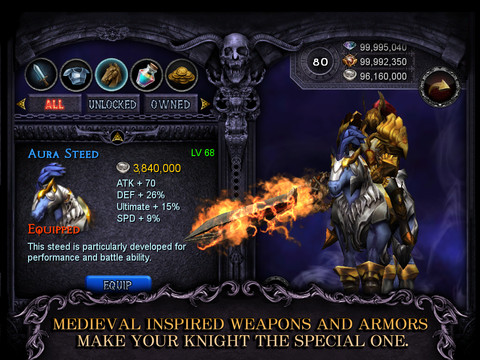 full Apocalypse Knights APK + SD DATA [Unlimited money]