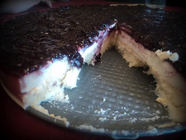tarta de queso y arándanos alba hogar