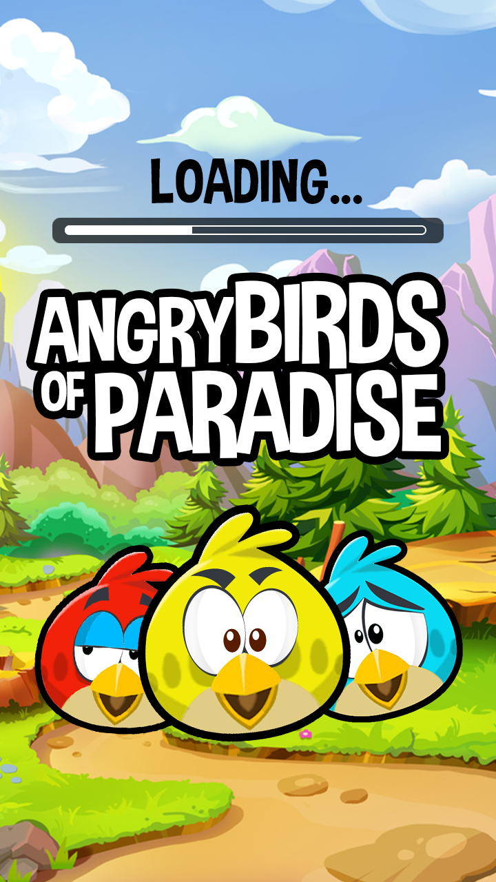 Angry Birds of Paradise
