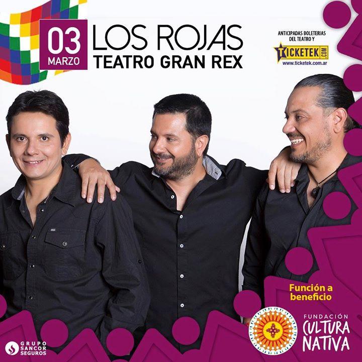Folclore y Solidaridad  Los Rojas en el teatro Gran Rex