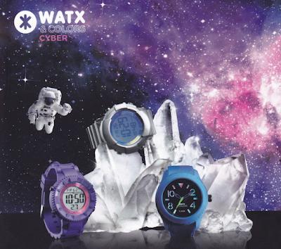 Colección de relojes Cyber de Watx&Colors.
