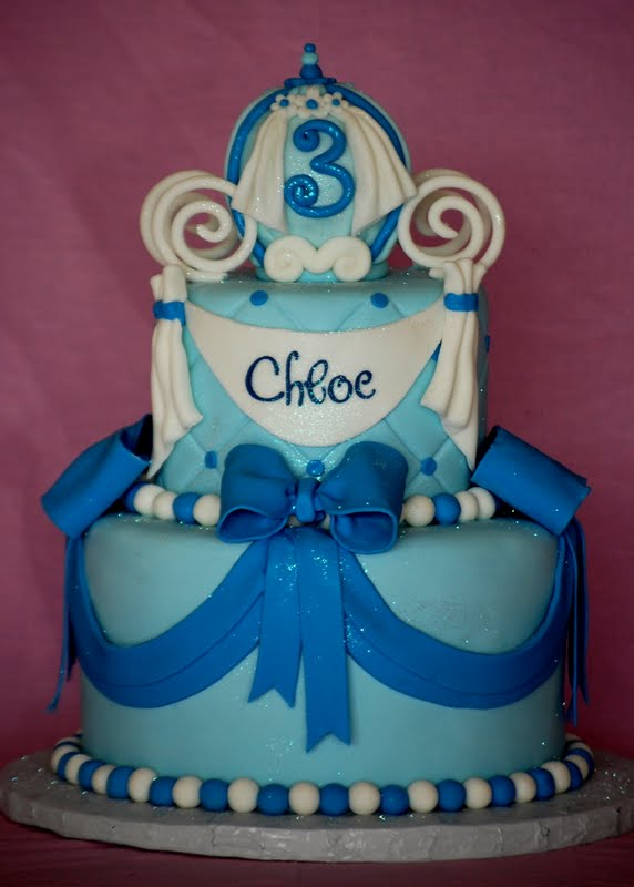 Cakefilley Cinderella Birthday Cake