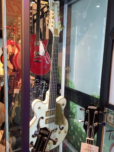 Gretsch 12 string bass At NAMM 2014 image