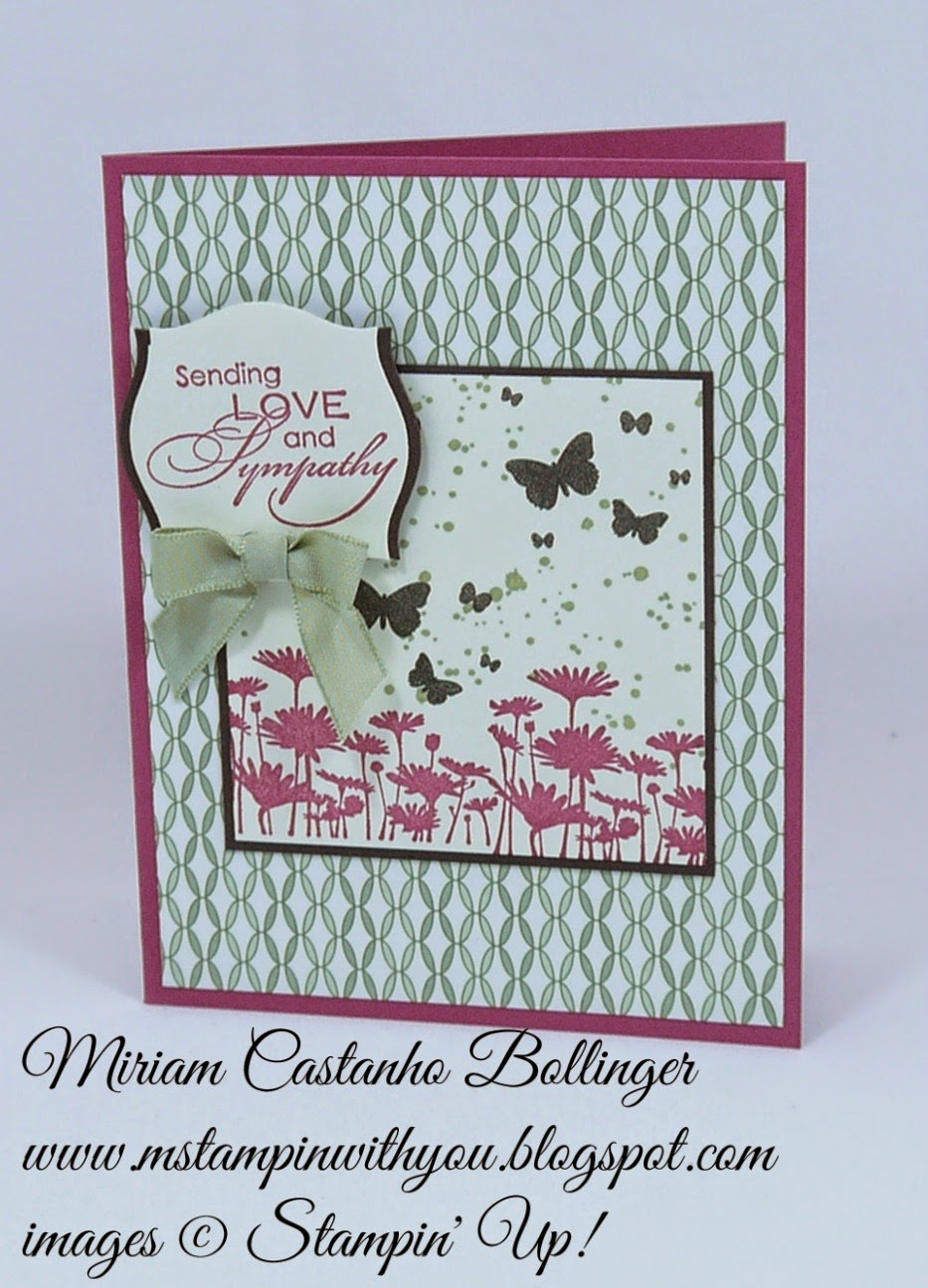 Miriam Castanho Bollinger, #mstampinwithyou, stampin up, demonstrator, rs 150,  pocket full of posies dsp, love & sympathy, perpetual birthday calendar, big shot, apothecary accents framelit, best of flowers, su