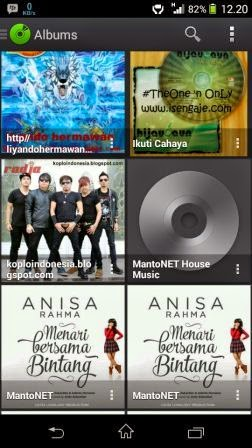 PlayerPro Music Player v3.1 Apk screenshot