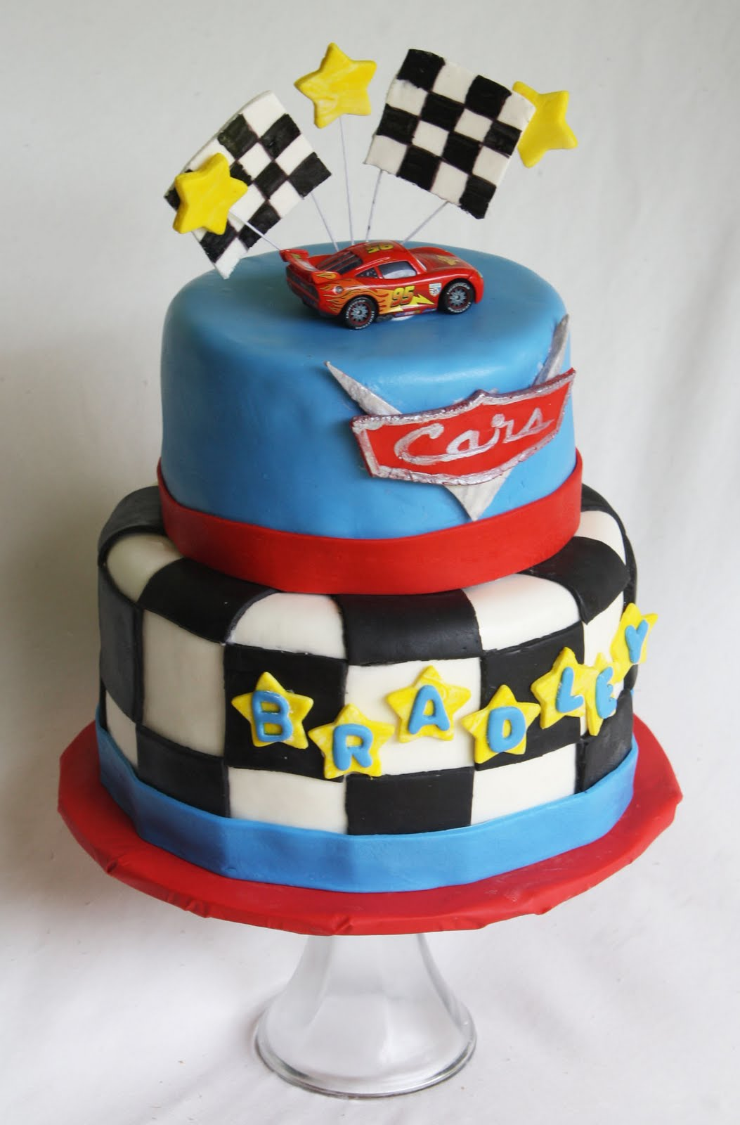 A Disney Cars Cake
