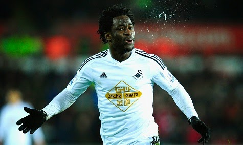 Manchester City enters the race to sign Wilfried Bony