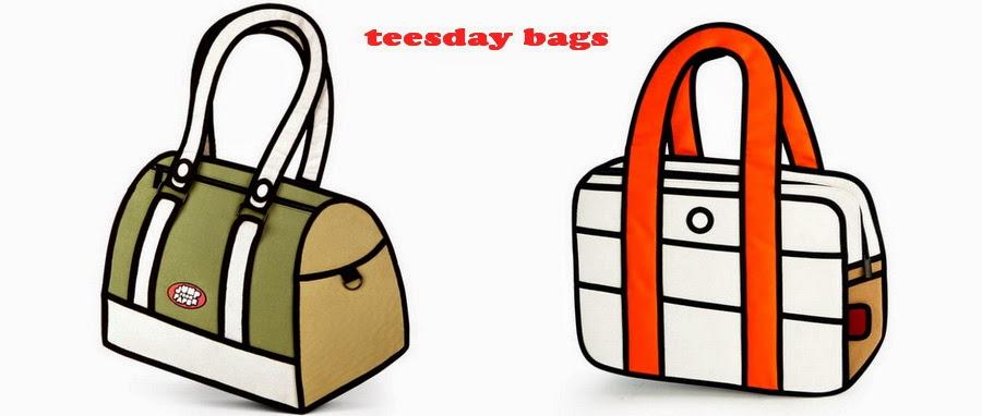 Teesday Bags: Tas Model Vintage, Tas Wanita Model Unik, Tas Kerja Vintage Unik, Tas Wanita Murah