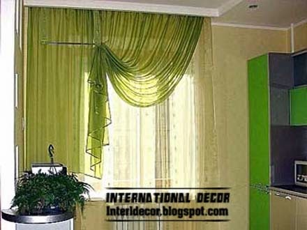 Contemporary kitchen curtain ideas 2014 bright styles colors for Modern kitchen curtains ideas